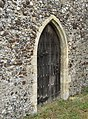 -2020-06-09 Side door, Saint Andrew parish Church, Metton, Norfolk.JPG