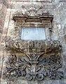 062 Església de Santa Caterina (València), inscripció a la base del campanar.JPG