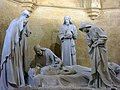 078 Basílica de Santa Maria (Vilafranca del Penedès), cripta, Enterrament de Josep Llimona.jpg