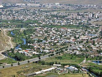 Hrazdan - Andranik Avenue at the Vanatur district