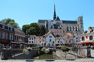 Somme (department) - Image: 0 Amiens Place du Don Cathédrale (1)