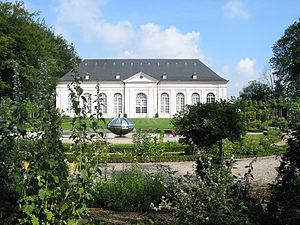 Louis Montoyer - The Orangery of the Chateau de Seneffe.
