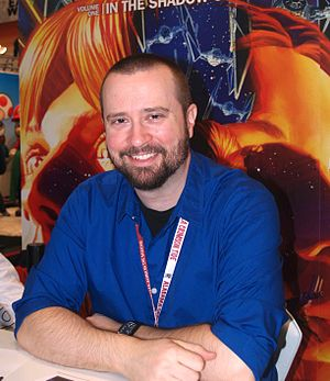 Dan Jolley - Jolley at the 2013 New York Comic Con