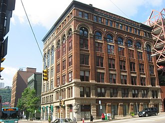 National Register of Historic Places listings in Pittsburgh, Pennsylvania - Image: 109 115 Wood Street