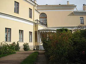 112. Pavlovsk Park. Private Garden. Entrance to the Palace..JPG, автор: Александров