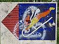1210 Aistgasse 8-30 - Mosaik-Wegweiser (5) von Hilde Leiter 1969 IMG 3520.jpg