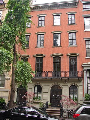 St. Mark's Historic District - Image: 125 E 10th NYC