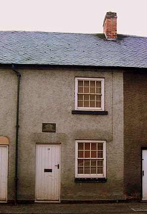 Ashbourne, Derbyshire - Catherine Booth's birthplace: 13 Sturston Road