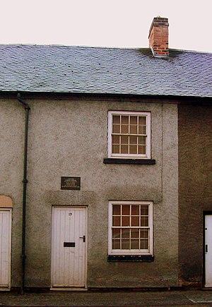Ashbourne, Derbyshire - Catherine Booth's birthplace: 13 Sturston Road