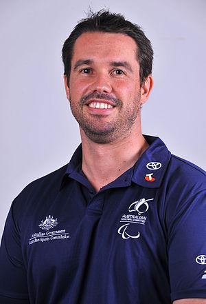 Grant Mizens - 2012 Australian Paralympic Team portrait of Mizens