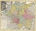 1740 Homann Map of the Holy Roman Empire ( Germanic Empire ) - Geographicus - ImperiiRomanoGerman-homann-1740.jpg