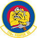 179th Fighter Squadron emblem