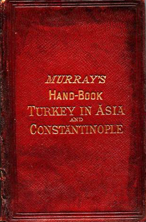 Murray's Handbooks for Travellers - Cover of Handbook for Travellers in Turkey, 1871
