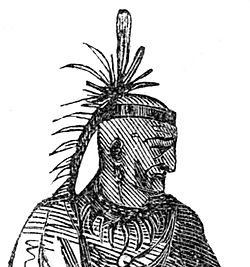 1872 Chiefs Cornstalk Logan and Red Eagle from Frosts pictorial history of Indian.jpg