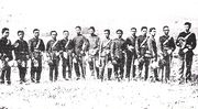Soldiers of the Imperial Japanese Army in 1875.