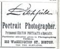 1888 Litchfield photographer advert 352 Washington Street in Boston.png