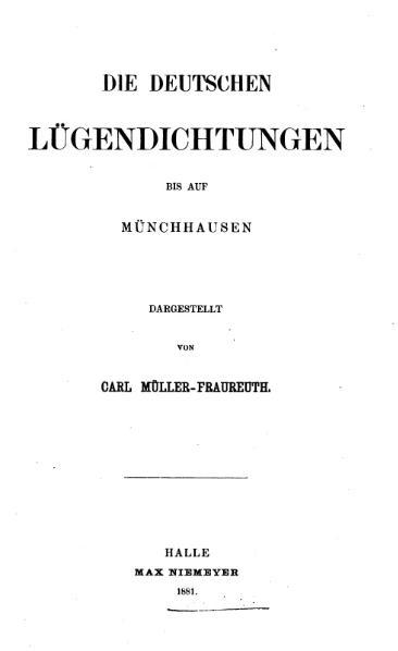 File:1891 Die deutschen Lügendichtungen bis auf Münchhausen.djvu