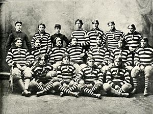 1895 VMI Keydets football team - Image: 1895 VMI Keydets football team