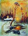 1896. Зимний пейзаж с соснами.jpg
