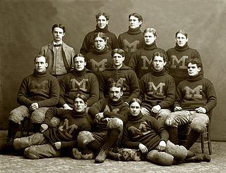 1897 Michigan Wolverines football team football team of the University of Michigan during the 1897 season
