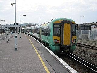 East Coastway line railway line