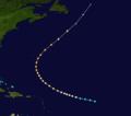 1917 Atlantic hurricane 2 track.png