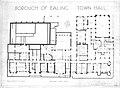 1937 Plan of Ealing Town Hall Basement.jpg