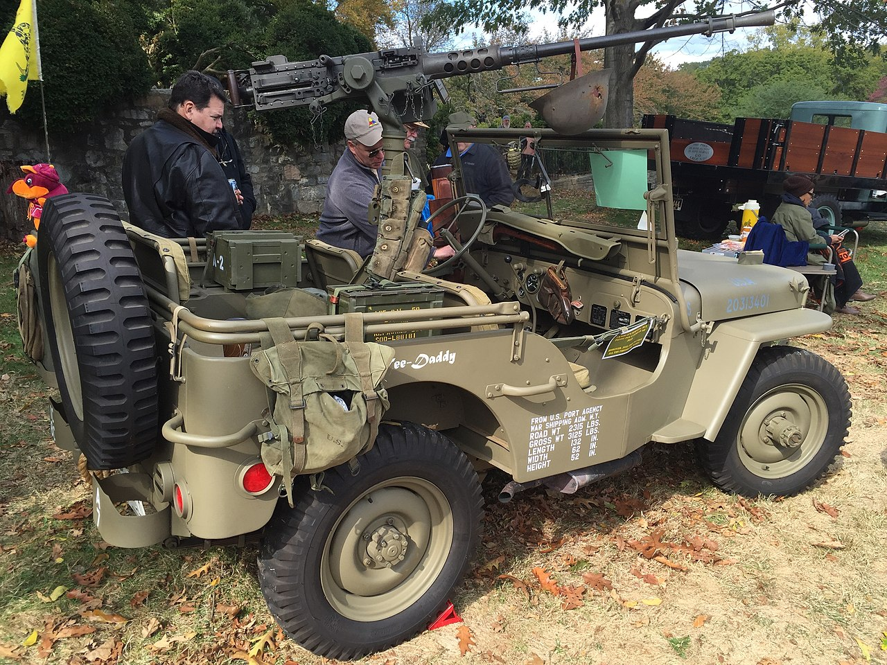 Jeep mb jeep : File:1943 Willys MB US Army Jeep at 2015 Rockville Show 3of3.jpg ...
