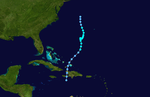 1948 Atlantic tropical storm 1 track.png