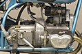 1950 Douglas Mark IV Sports 348cc 2 cyl ohv engine right side.jpg