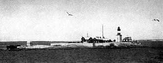 Sailing at the 1952 Summer Olympics - Image: 1952 Harmaja skyline
