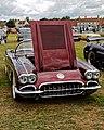 1958 Chevrolet Corvette C1 5700cc at Hatfield Heath Festival 2017 - front.jpg