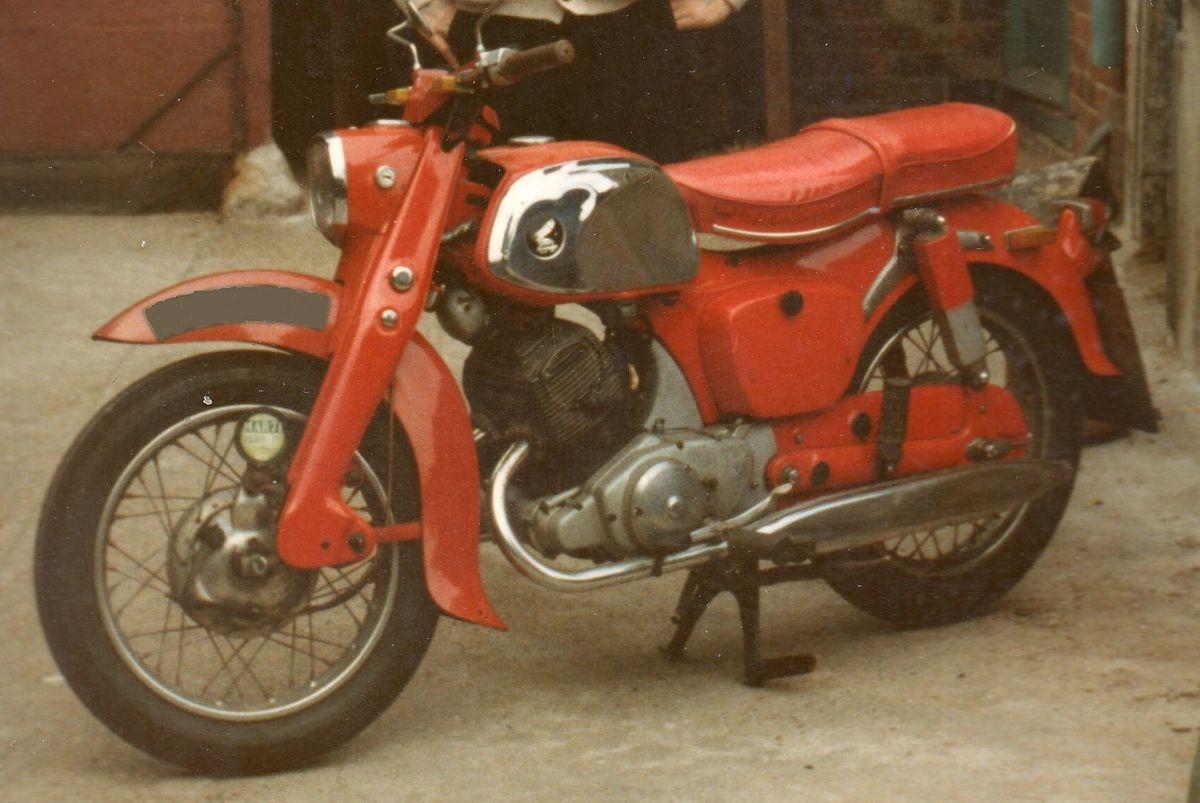 Honda C92, CB92, C95 Benly - Wikipedia