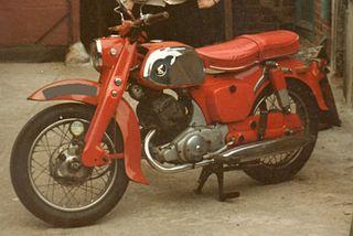 Honda C92, CB92, C95 Benly Parallel-twin motorcycle