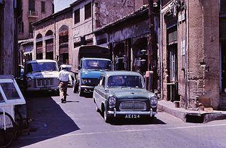Ledra Street - Byway of Ledra Street in 1969