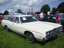 1972 Ford Galaxie Station Wagon
