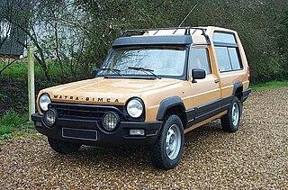 Matra Rancho Motor vehicle