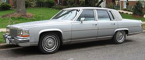 Cadillac Brougham - 1988 Cadillac Brougham with Premiere Roof option