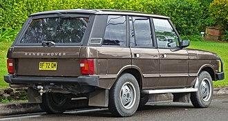 Range Rover - Land Rover Range Rover 5-door wagon (Australia)