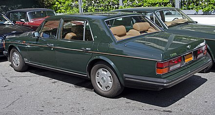 bentley brooklands 1992-1997