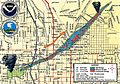 1999 Salt Lake City Tornado path.jpg