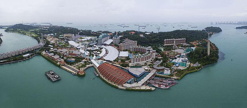 Sentosa Island Resorts Twoadults Two Kids One Room