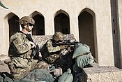 1st Brigade, 25th Infantry Division, Task Force-Iraq at FOB Union III.jpg