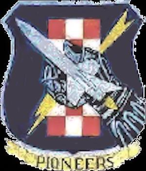 1st Tactical Missile Squadron - Image: 1st Tactical Missile Squadron Emblem