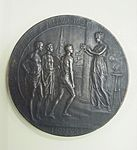 2000-158-18. Medal, Participation, Olympics, Antwerp 1920, Obverse (7268561274).jpg
