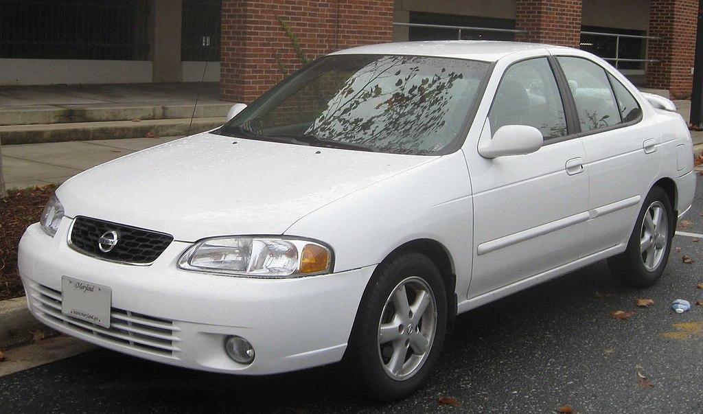 Ficheiro 2000 2003 Nissan Sentra Jpg Wikipedia A Enciclopedia Livre