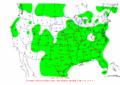 2002-10-25 24-hr Precipitation Map NOAA.png