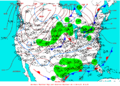 2004-02-11 Surface Weather Map NOAA.png