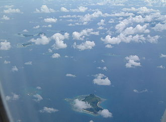 Mamanuca Islands - Mamanuca Islands from the air
