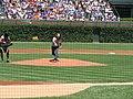 20070803 Eddie Vedder throwing ceremonial first pitch.jpg
